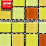 Hot selling mosaic painting 600*600mm beautiful glass mosaic tile bathroom set                                                                                                         Supplier's Choice
