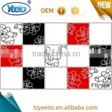2015 tulip pattern aluminum foil sticker,clear vinyl wall tile bathroom,floor tile price dubai