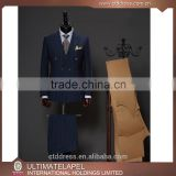 High quality 100% wool slim fit bespoke suit custom tailored suits manufacturers                                                                                                         Supplier's Choice