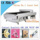 high performance ratio Acrylic/Wood/Plywood/Plastic/LGP co2 laser cutting machine with step motor and belt imported 150w reci