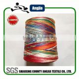 polyester dope dyed yarn embroidery thread