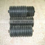 JIS impact gravity carry roller, impact heavy load roller, impact heavy duty roller,impact high load roller