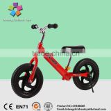 Promotional Best Children Balance Bike/Educational toddler Balance Bike/New fashion 12 Inch Kids Balance