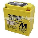BATTERY MOTO GUZII SPORT STERVIO BREVA 09 12 AGM GEL SEALED/ATV Motorcycle Scooter Battery