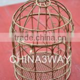 Stainless steel metal decorative wire mesh bird cage