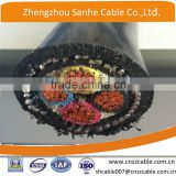 0.6/1kV 4*70mm2 /4*95mm2 Copper conductor XLPE insulation steel wire SWA armoured power cable CU/XLPE /PVC