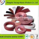 bed room furniture pvc edge banding for particle board/table rubber edging