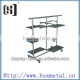 Multi-layer clothes jeans display racks HSX-060