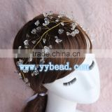 New Arrive Acrylic Crystal Stone Beads Headband Hairband For Women Hair Accessories