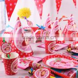 90pcs Tableware suit for kids birthday party theme decorations- decorate room birthday party-