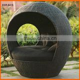 Chic Rattan Egg Daybed Sofa Chair Cushion Cover