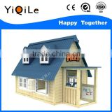 High quality wood child play house funny garden houses for children amazing wood children house