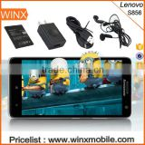 Wholesale lenovo S856 4G Phone 5.5 inch Quad Core 1.2GHz 1GB 8GB Dual SIM 8.0MP GPS WCDMA LTE-FDD alibaba express