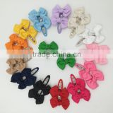 Grosgrain Ribbon Bows Clips for Baby Girls Bobby Pin for Baby Girls Bows Hair Pin Hair Accessories
