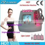 Hot salon equipment Hourglass Figure shaping machine Portable lipolaser weight lose machine fat impressive inch loss immediately