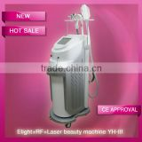Hot sale!! Cost-effective skin rejuvenation Multi-functional equipment elight rf laser machine for SPA using-YH-III