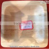 Disposable bamboo leaf leaves plate tray