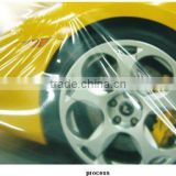 high quality pe protective film for car paint film self adhesive foil car body surface foil