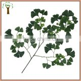 artificial ginkgo branch and leaves wholesale