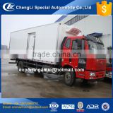 top quality 6 wheel diesel faw 20 ton refrigerated box truck for sale