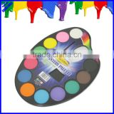 Quality 40mm diameter 12 color water paint colors