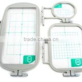 3pcs Embroidery Hoop Set for Brother SE400 SE425 PE500 Machine Babylock