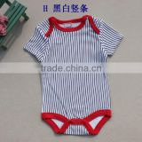 high quality cotton short sleeve comfortable baby toddler clothing