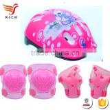 HFX0232 Elbow Pads Knee Pads Wrist Guard and Helmet kids sports Safety Protective Gear Set