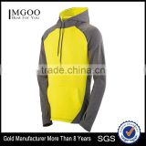 Autumn Style Custom Hoody Multi Color Front Pouch Pocket Athletic Hoodies Soft Brushed Back Poly/Spandex 4-Way Stretch
