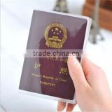 Travel Accessories Passport Cover Waterproof Transparent & Frosted ID Card Holder Bags Protective Sleeve for Business