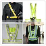 fluorescent reflective safety waist belt for walking