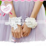 Wedding Decoration Bride Bridesmaid Hand Wrist Corsage Party Prom Decor Bridal Wristband Wrist Flower