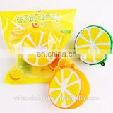 OEM Wholesale Anti Stress Soft PU Japan squishy Kawaii slow rising Cute Lemon toys Factory