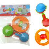 OEM Plastic Infant Handle Rattle Developmental Toy