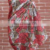 100% Cotton Printed Pareo Sarong for Beach & Pool Party