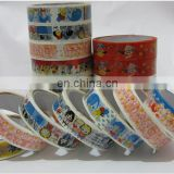 custom opp printed adhesive packing tape with logo