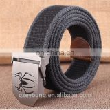 Wholesale Fashion Casual Factory Price Canvas Woven Belt
