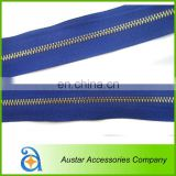 Wholesale Metal/Brass/Aluminum Zipper for Garment/Bag/Shoes