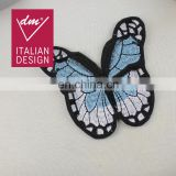 Decorative clothing patches and custom embroidery butterfly applique