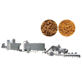 Triangles , Pillows Shape Automated Start Up Pet Food Processing Line Dog Food Production Line