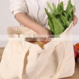 Custom Multi Inside Pocket Fruit Vegetable Tote Bag Grocery Bags Organic Reusable Shopping Bag