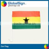Printed car flags perfect for an automobile