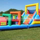 Factory cheap inflatable obstacle for advertising ,sport games inflatable obstacle,inflatable obstacle course for adult