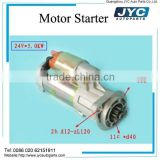 YC4E engine parts E3205-3708100 24V starter motor                                                                         Quality Choice