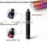 Adjustable voltage e-cig battery with ego usb charger,Haka twist battery from Oakleytech