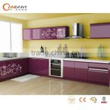 Country style modern kitchen cabinet,kitchen cabinet pvc countertop sink                                                                         Quality Choice