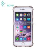 Custom semi transparent mobile phone protective shell case for iphone