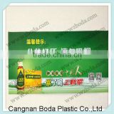 Pvc plastic warning sign , wall attention sign plate