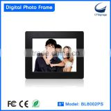 8-inch single-function thin digital photo picture frame BL8002PS digital photo frame wall clock