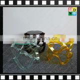 New furniture of Clear transparent high quality colorful acrylic /plexiglass/ PMMA wedding wholesale chair in home/hotel